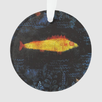 Paul Klee The Goldfish Vintage Watercolor Art Ornament