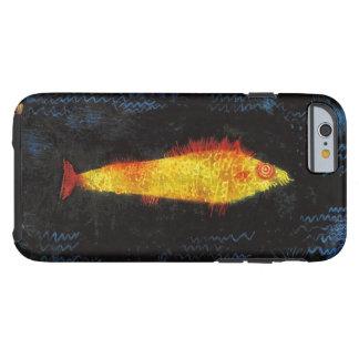 Paul Klee The Goldfish Vintage Watercolor Art Tough iPhone 6 Case