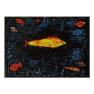 Paul Klee The Goldfish Whimsical Nursery Art Posters
