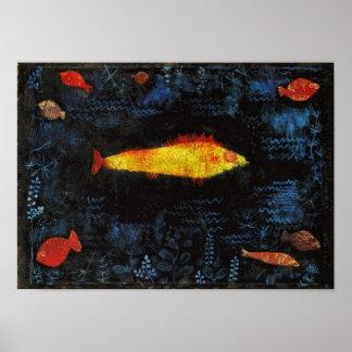 Paul Klee The Goldfish Whimsical Nursery Art Poster