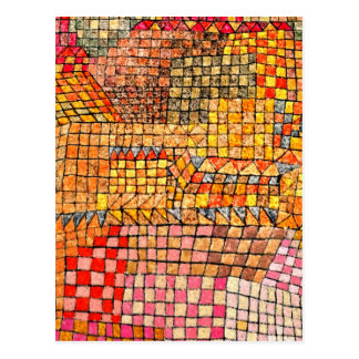 Paul Klee - Town Castle Kr. Postcard