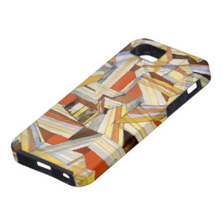 Paul Klee: Transparent in perspective Grooved iPhone SE/5/5s Case