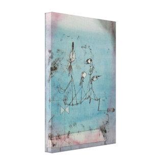 Paul Klee Twittering Machine Canvas Poster