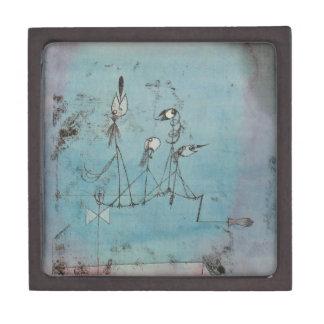 Paul Klee Twittering Machine Gift Box Premium Jewelry Box