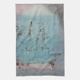 Paul Klee Twittering Machine Kitchen Towel