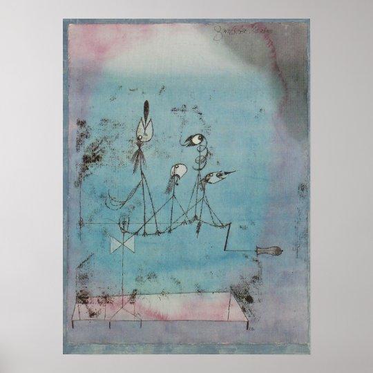 Twittering Machine >> Paul Klee Twittering Machine Poster Zazzle Com