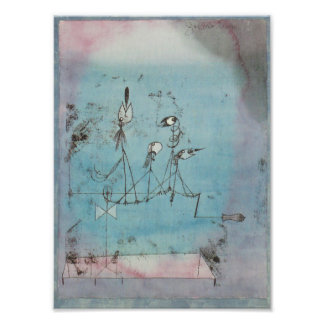 Paul Klee Twittering Machine Print