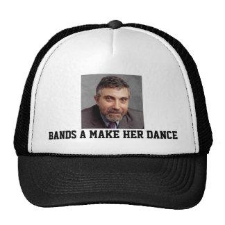 Paul Krugman congriega hace su gorra del camionero