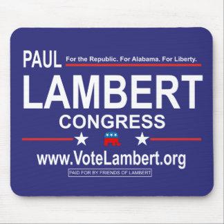 Paul Lambert for Congress Mousepad