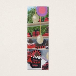 Paul Lamotte Fontainebleau skinny bookmark Mini Business Card