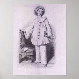 Paul Legrand as Pierrot Poster