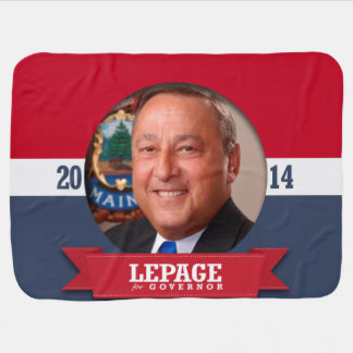 PAUL LEPAGE CAMPAIGN BABY BLANKET