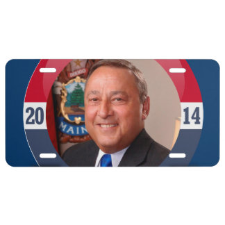 PAUL LEPAGE CAMPAIGN LICENSE PLATE