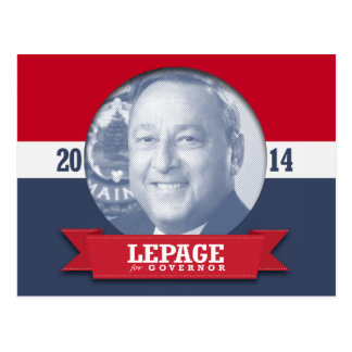 PAUL LEPAGE CAMPAIGN POST CARDS