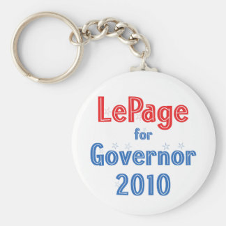 Paul LePage for Governor 2010 Star Design Keychain