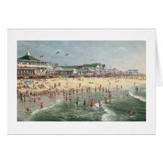 "Paul McGehee ""A Rehoboth Beach Memory"" Card"