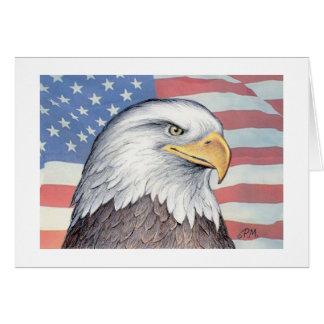 "Paul McGehee ""American Bald Eagle"" Card"