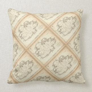 "Paul McGehee ""Antigua Map"" Pillow"