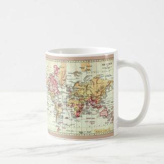 "Paul McGehee ""Antique British Empire Map"" Mug"