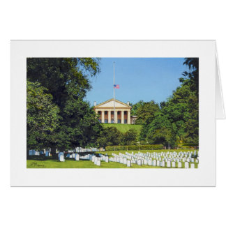 "Paul McGehee ""Arlington National Cemetery"" Card"