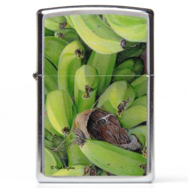 "Beach Themed Paul McGehee ""Bananas"" Zippo® Lighter"