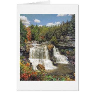 """Paul McGehee """"Blackwater Falls"""" Card"""