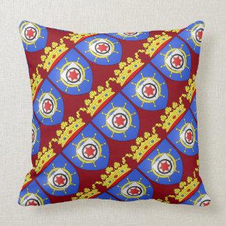 "Paul McGehee ""Bonaire Coat of Arms"" Pillow"