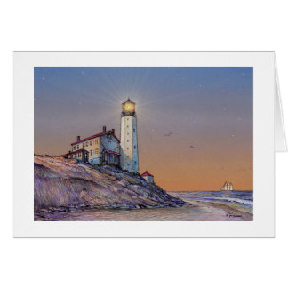 "Paul McGehee ""Cape Henlopen Lighthouse"" Card"