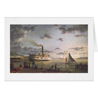 "Paul McGehee ""Chesapeake Bay Harbor"" Card"