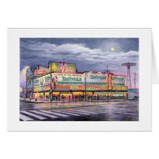 "Paul McGehee ""Coney Island Memories"" Card"