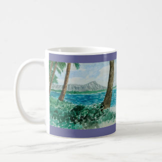 "Paul McGehee ""Diamond Head - Oahu, Hawaii"" Mug"
