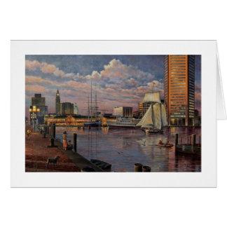 Paul McGehee el puerto interno tarjeta de Baltimo