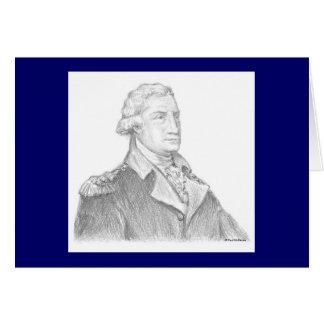 Paul McGehee George Washington Card