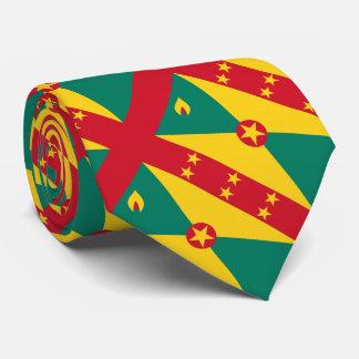 """Paul McGehee """"Grenada Flag"""" Tie"""