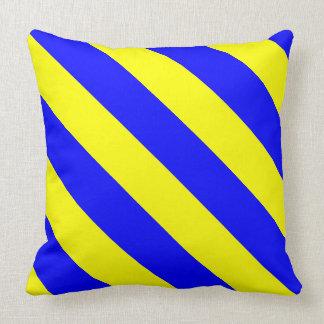 "Paul McGehee ""K - Kilo"" Maritime Flag Pillow"