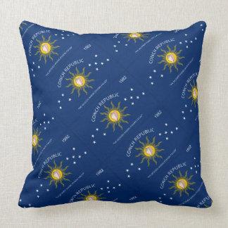 "Paul McGehee ""Key West Flag"" Pillow"