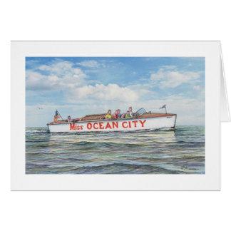 "Paul McGehee ""Miss Ocean City"" (1941) Card"