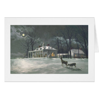 "Paul McGehee ""Mount Vernon by Moonlight"" Card"