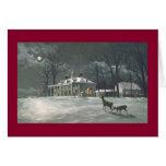 "Paul McGehee ""Mount Vernon"" Christmas Card"