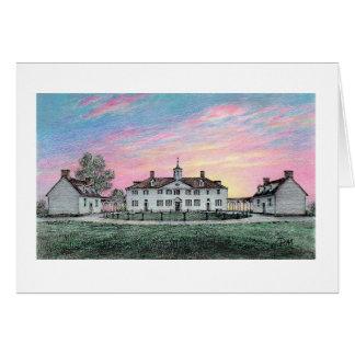 "Paul McGehee ""Mount Vernon Dawn"" Card"