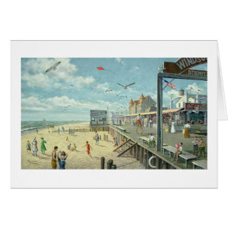 """Paul McGehee """"Ocean City: Boardwalk Memories"""" Card"""