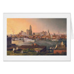 "Paul McGehee ""Old Baltimore Harbor"" Card"