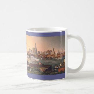"Paul McGehee ""Old Baltimore Harbor"" Mug"