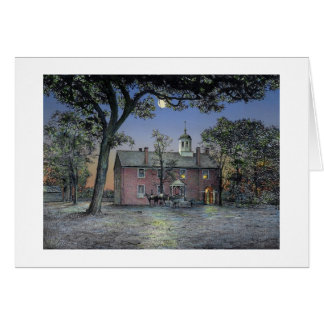 "Paul McGehee ""Old Fairfax Courthouse"" Card"