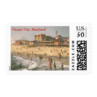 """Paul McGehee """"Old Ocean City"""" Stamps"""