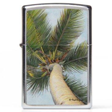 "Beach Themed Paul McGehee ""Palm Tree"" Zippo® Lighter"
