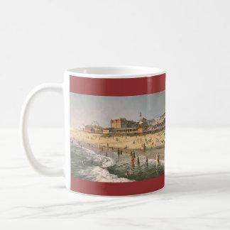 """Paul McGehee """"panorama de la ciudad del océano - 1 Taza De Café"""