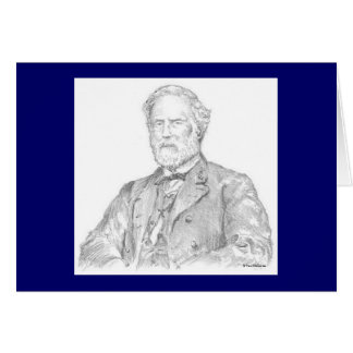 "Paul McGehee ""Robert E. Lee"" Card"
