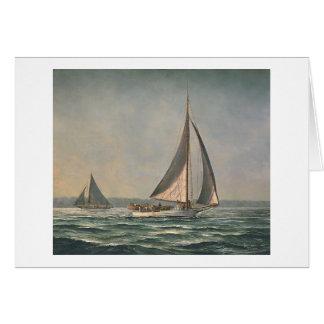"""Paul McGehee """"Skipjacks in Tangier Sound"""" Card"""