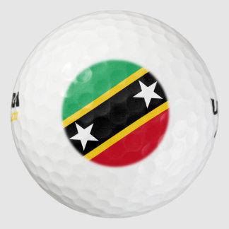 "Paul McGehee ""St.Kitts/Nevis"" Wilson® Golf Balls Pack Of Golf Balls"